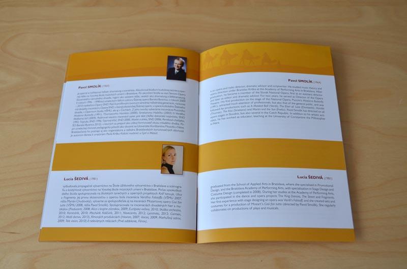 A Children's Opera Booklet