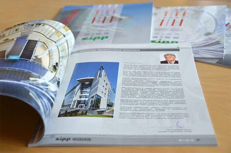 ZIPP Annual Report 2008