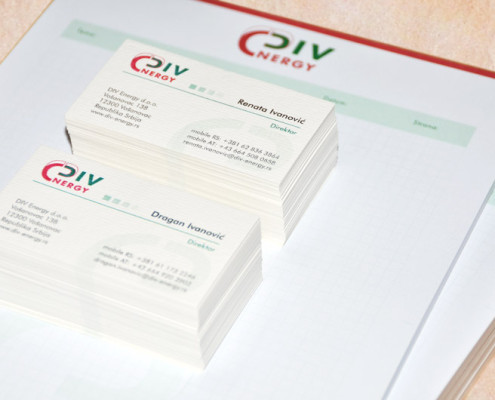 Logo, Business Cards, Notepads