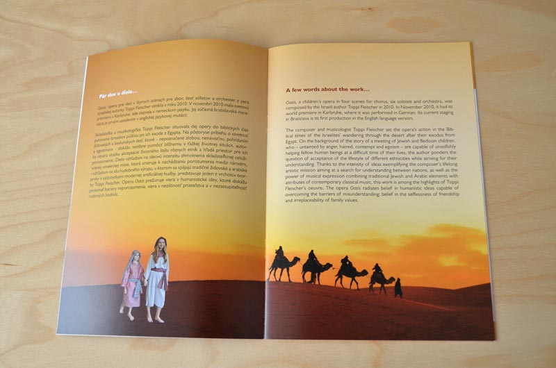 A Children's Opera Booklet